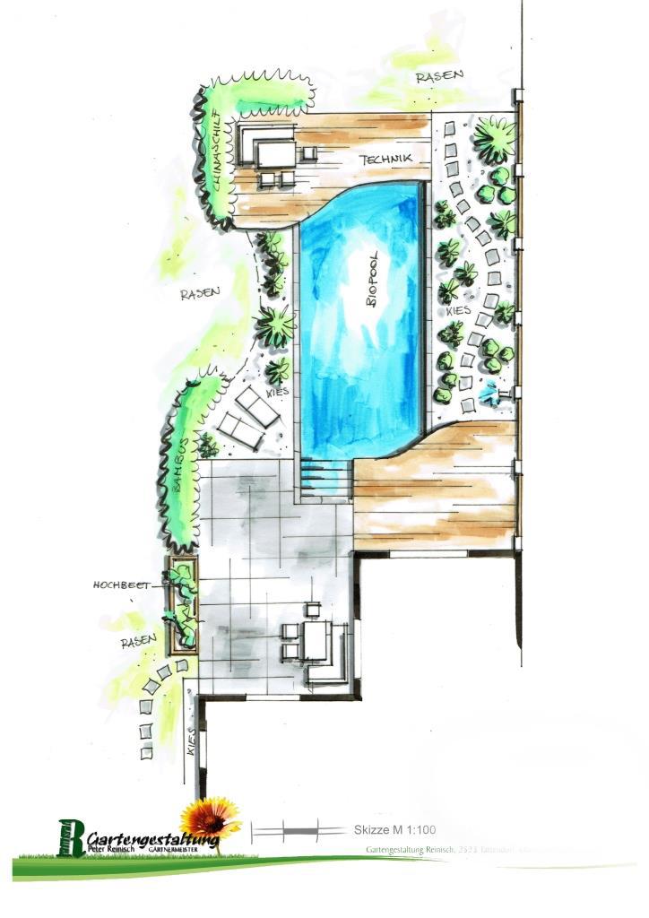 Naturpool und Gartengestaltung Neudörfl
