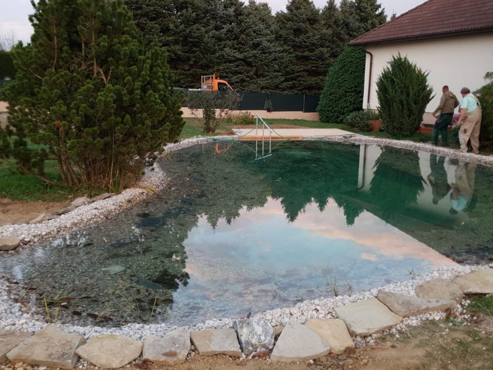 Schwimmteich Sanierung